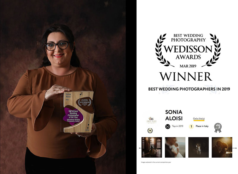 Weddison Awards Sonia Aloisi Photographer